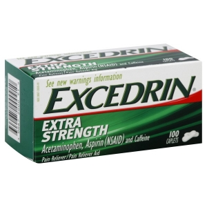 Excedrin ยาแก้ปวดจากอเมริกา บรรเทาอาการปวดต่างๆได้อย่างมีประสิทธิภาพ ขนาด 100 เม็ด ค่ะ
