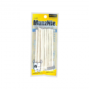 ขนมสุนัข MUNZNIE mini ชิวสติ๊กขาว