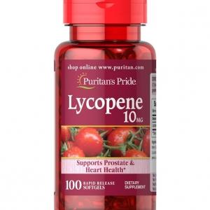 Puritan's Pride Lycopene 10 mg 100 softgels ไลโคปีน วิตามินสารสกัดจากมะเขือเทศอุดมไปด้วยสารต้านอนุมูลอิสระ และยังช่วยบำรุงผิวพรรณและชะลอวัยอีกด้วยค่ะ