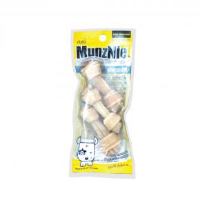 ขนมสุนัข MUNZNIE mini กระดูกผูกสีธรรมชาติ 2.5 นิ้ว