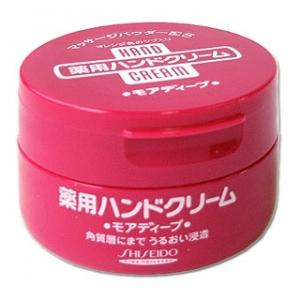 Shiseido Hand Cream กระปุกใหญ่ 100 g.บำรุงมือให้กลับมานุ่มชุ่มชื่นจากญี่ปุ่นค่ะ