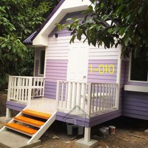 1-010 บ้านน็อคดาวน์ - ทรงจั่ว - 3x5 เมตร