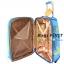 """Polongo กระเป๋าเดินทาง 4 ล้อลาก สีส้ม/ฟ้า ขนาด 20"""" thumbnail 6"""
