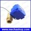 มอเตอร์วาล์วไฟฟ้าปิดเปิดน้ำ 4 หุน CWX-15 DN15 2-way DC12v motorized brass ball valve CR05 5 wires with feedback signal 1/2 inch thumbnail 1