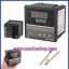 เครื่องวัดควบคุมอุณหภูมิ Temperature Controller PV SV Digits Display REX-C900FK02-M*AN + Thermocouple probe K Type thumbnail 1