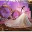 ชุดแต่งงาน ไหล่ปาด แขนสามส่วน thumbnail 9