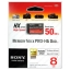 Sony Memory Stick Pro-HG Duo HX 8G thumbnail 1