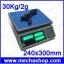 เครื่องชั่งนับจำนวน 30Kg ความละเอียด2g ยี่ห้อ ANEX รุ่น ACS-ZS-30KG Counting Scales 30Kg/2G ขนาดถาดชั่ง 240x300mm thumbnail 1