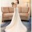ชุดแต่งงาน ไหล่ปาด ทรงหางปลา thumbnail 4