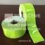 แถบPVCสะท้อนแสง แบบเรียบ สีเขียวมะนาว (กว้าง 3 นิ้ว ยาว 50เมตร) thumbnail 1