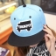 หมวกฮิปฮอป หมวก Hiphop ลาย Trukfit สีฟ้า thumbnail 1