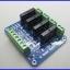 โซลิดสเตตรีเลย์ 4ช่อง 2A OMRON 4 Channel Solid State Relay Module Board SSR AVR DSP 250V thumbnail 1