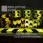 สติ๊กเกอร์สะท้อนแสง ลายรังผึ้งลูกศรสีเหลืองดำ ขนาด 2 นิ้ว thumbnail 7