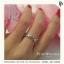 แหวนเพชรCZ แหวนเพชรรัสเซีย แหวนเถาวัลย์ส่งเสริมเรื่องความรัก สำเนา thumbnail 1