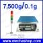 เครื่องชั่งนับจำนวน 7500g ความละเอียด0.1g รุ่น PCH-7500 Counting Scales จานชั่งสแตนเลส 280x220mm พร้อม Port เชื่อมต่อ Lamp Tower thumbnail 1