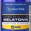 Puritan's Pride Melatonin 5 mg Extra Strength 120 Tablets วิตามินคลายเครียด ช่วยให้นอนหลับสบาย หลับได้นานขึ้น จากอเมริกาค่ะ thumbnail 1
