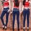 กางเกงยีนส์ทรงเดฟเอวสูง ยีนส์เข้ม ยีนส์แท้ ทรงสวย ผ้ายีนส์ยืดเนื้อดี มี SIZE S,M,L,XL