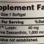 Puritan's Pride Lutein 40 mg (มี Zeaxanthin 1,600 mcg) 120 เม็ด บำรุงสายตาจากอเมริกาค่ะ thumbnail 2