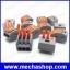 (10ชิ้น)เทอมินอลต่อสายไฟ ขั้วต่อสายไฟ ขัวต่อสายคอนโทรล ลูกเต๋าเชื่อมต่อสายไฟ PCT-213 3 Pin Universal compact wire wiring connector conductor terminal block with lever thumbnail 1
