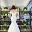 ชุดแต่งงาน ไหล่ปาด ทรงหางปลา thumbnail 14