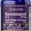 Puritan's Pride Resveratrol แบบเข้มข้น 200 mg plus Red Wine Extract 10 mg. 60 softgels วิตามินฟื้นฟูสภาพผิว ต่อต้านริ้วรอยค่ะ thumbnail 1
