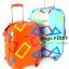 """Polongo กระเป๋าเดินทาง 4 ล้อลาก สีส้ม/ฟ้า ขนาด 20"""" thumbnail 1"""