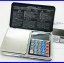 เครื่องชั่งดิจิตอล เครื่องชั่งพกพา Pocket Scale 500g ความละเอียด 0.01 New Design! 6IN1 Mini Digital Scale Calculator Clock Thermometer LCD Weighing thumbnail 1