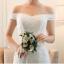 ชุดแต่งงาน ไหล่ปาด ทรงหางปลา thumbnail 8