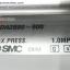 Cylinder ยี่ห้อ SMC รุ่น CDA2B80-600 (Used) thumbnail 2