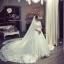 ชุดแต่งงาน ไหล่ปาด แขนยาว thumbnail 5