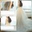 ชุดแต่งงาน ไหล่ปาด แขนสามส่วน thumbnail 11