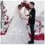 ชุดแต่งงาน ไหล่ปาด หางยาว thumbnail 3