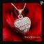 สร้อยจี้เพชรCZ เพชรรัสเซีย รูปหัวใจ thumbnail 1