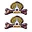 PET2GO ขนมขัดฟันสุนัข เดลี่ เดนทัลโบน รสเบคอน 175g (2ชิ้น/ชุด)