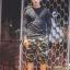 กางเกง Jogger ขาจั๊มสามส่วน พรีเมี่ยม ผ้า วอร์ม รหัส WT 379 BB สีทหาร แถบ ดำ