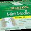 BIGELOW Mint Medley 20 tea bags ชามีชื่อจากฝั่งอเมริกา มีมาตั้งแต่ปี 1945 ตัวนี้เป็นชามินท์รวมรสทั้งสเปียร์มินท์และเปปเปอร์มินท์ หอมมากๆๆๆค่ะ thumbnail 1