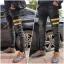 STRETCH JEANS JOGGER PANTS | ขาจั๊มยีนส์ยืด YM610 G