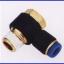 ขั้วต่อลม ข้อต่อลม อุปกรณ์ลม SPH6-01 SPH series swing elbow(จำนวน10ชิ้น) thumbnail 1