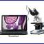 กล้องจุลทรรศน์ พร้อมอุปกรณ์ 40X-2500X LED Digital Binocular Compound Microscope with 3D Stage + USB Camera(From USA)(สินค้า Pre-Order 2สัปดาห์) thumbnail 1