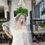 ชุดแต่งงาน ไหล่ปาด ทรงหางปลา thumbnail 12