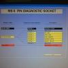 BENZ วงจร ปลั๊กวิเคราะห์ OBDii 8pin 38pin BENZ PIN DIAGNOSIS ดูฟรี