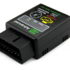 Mini ELM327 Bluetooth V2.1 OBD2 Car CAN Wireless Adapter Scanner Tool - Black