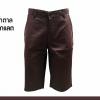 กางเกงสามส่วน รุ่น315 (สีน้ำตาลช็อคโกแลต)