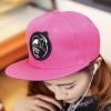 หมวกฮิปฮอป หมวก Hiphop สีชมพู