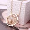 Vintage hourglass necklaces
