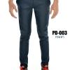 กางเกงขายาว รุ่น PD-003 (สีกรมท่า)