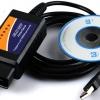 เครื่องสแกนรถยนต์ ELM327 (USB)