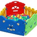 บ้านบอลเด็กเล่น รั้วหมีเเสนซน