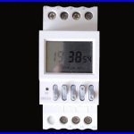 เครื่องตั้งเวลาดิจิตอล ตัวตั้งเวลา มีแบตเตอรี่ lithium และรีเลย์ ในตัว 8On/ 8Off Programmable Electronic Timer 16A 220V