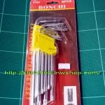 ประแจท็อค หัวจีบ BONCHI 9ตัว/ชุด รุ่น S103